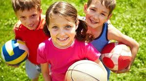 deporte niños felices