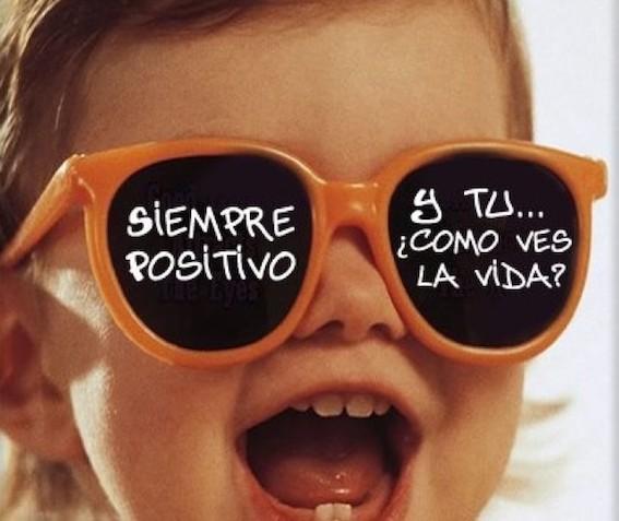 ser positivo para una vida positiva