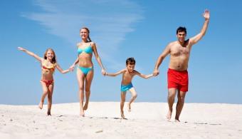 ser positivo vacaciones felices