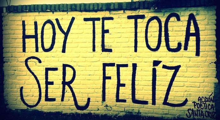 ser positivo mereces ser feliz