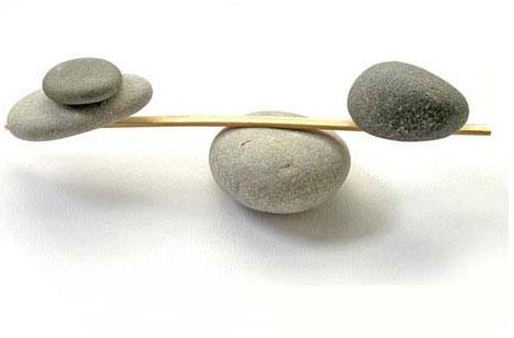ser positivo hacer balance