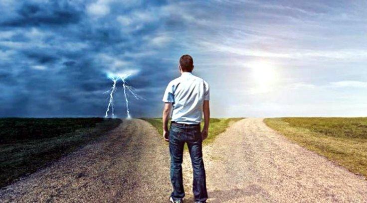 ser positivo elegir un camino por miedo a otro