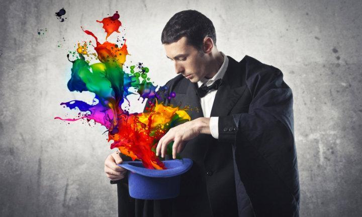 ser positivo por arte de magia